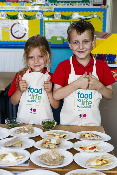 Ashton Vale School. Food For Life Partnership