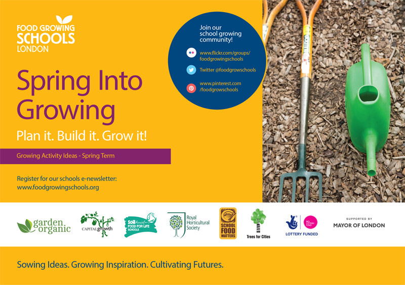 Spring into Growing 2017 Flyer Front