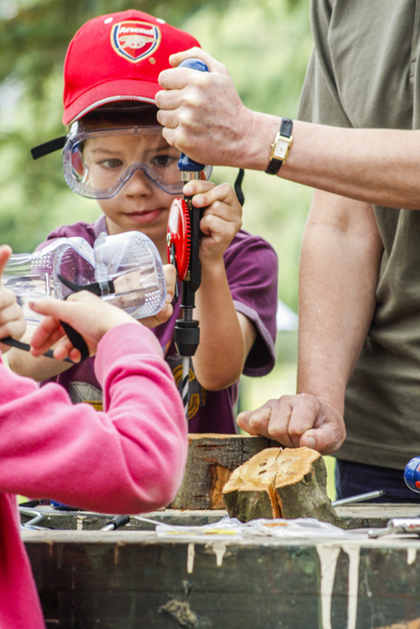 Offer your local school skills and time to help them start growing