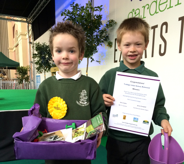Trafalgar Infant School. GATW Competition winners.