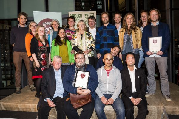 Urban Food Awards 2015. Judges and Winners. Miles Willis mileswillis.co.uk